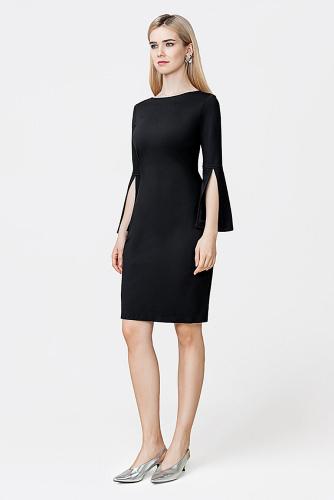 Платье #178929Черный