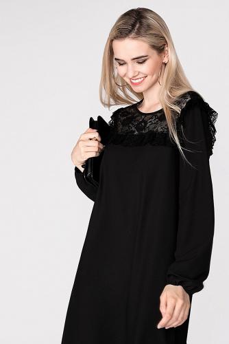 Платье #178666Черный