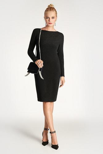 Платье #179244Черный