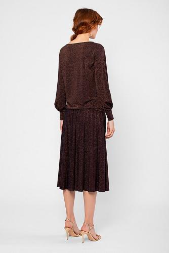 Блуза #180812Медный