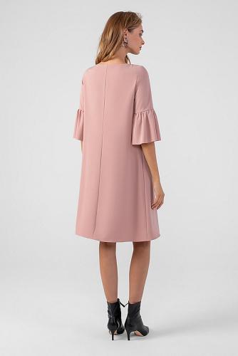 Платье #178664Пудровый