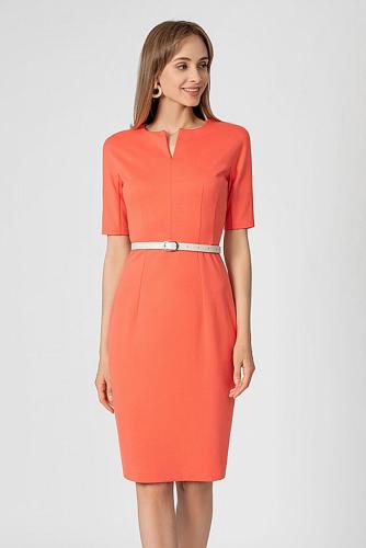 Платье #180751Коралловый