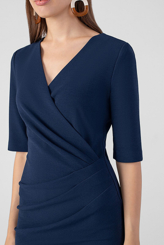 Платье #178935Темно-синий