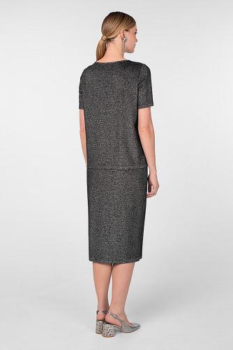Блуза #180811Серебряный
