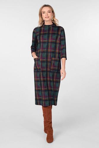 Платье #180750Мультиколор