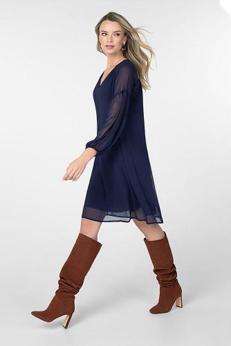 Платье #180587Темно-синий