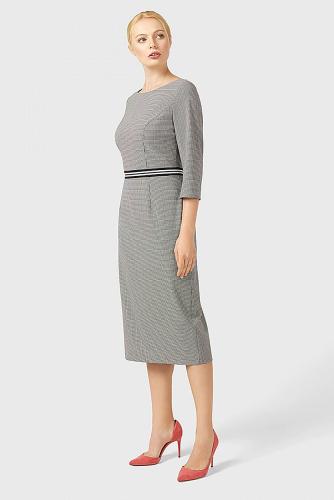 Платье #179414Черно-белый