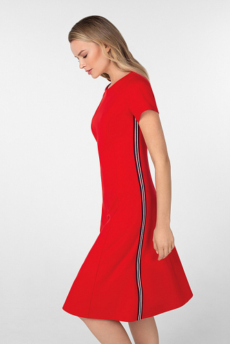 Платье #180742Красный