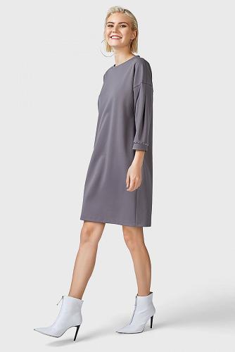 Платье #180206Серый