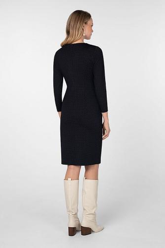 Платье #180746Черно-белый