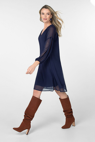 Платье #180841Темно-синий