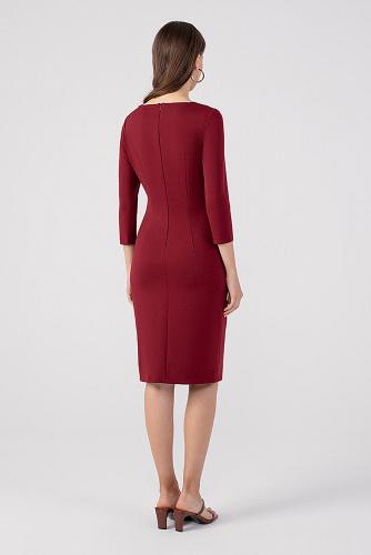 Платье #178923Бордовый