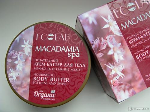 Ec-Lab/2230/Macadamia Spa/Питат/крем-баттер
