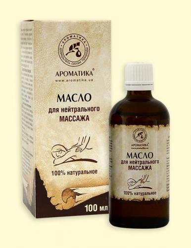 Массажное масло для нейтрального массажа 100мл.