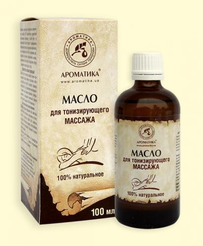 Массажное масло для тонизирующего массажа