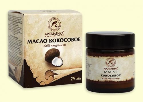 Кокосовое твердое 25мл. (растительное (жирное) масло)