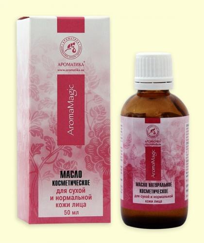 Косметическое масло для сухой и нормальной кожи лица