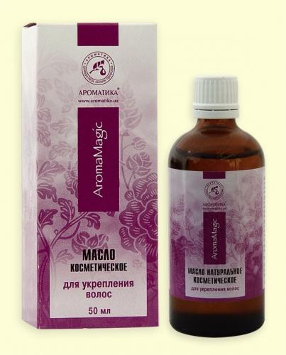 Косметическое масло для укрепления волос