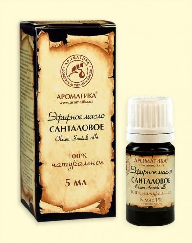 Санталовое (сандалового дерева) (эфирное масло)