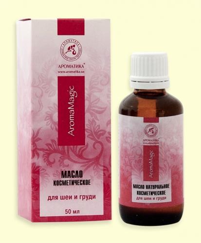 Косметическое масло для шеи и груди