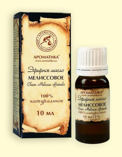 Мелиссовое (эфирное масло)