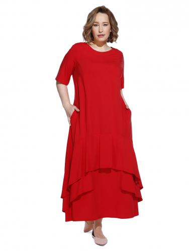 Платье 192210 2300р красный