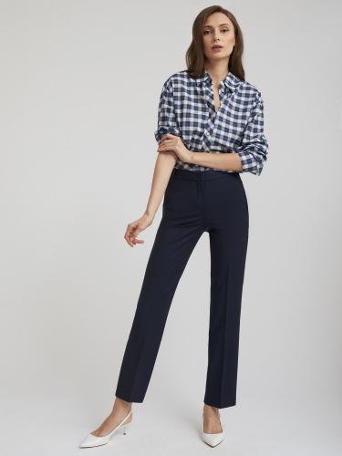 Укороченные прямые брюки