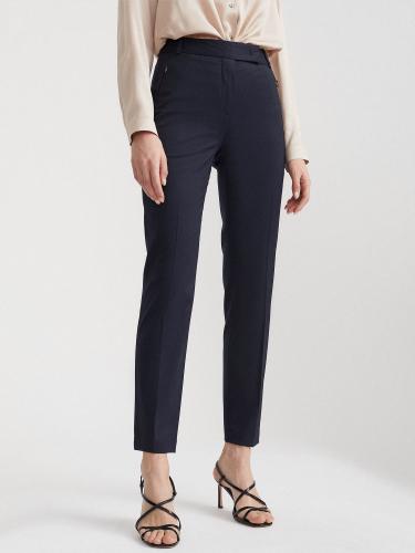 Укороченные брюки с корсажем