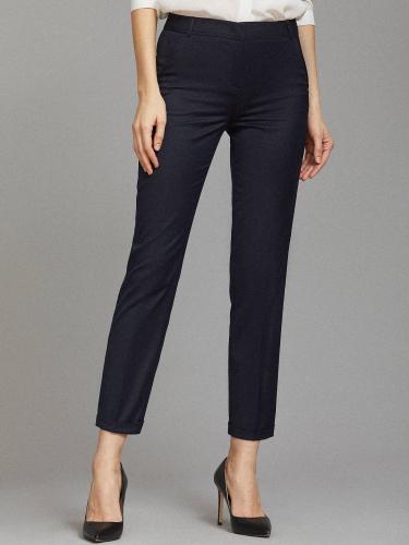 Фактурные укороченные брюки