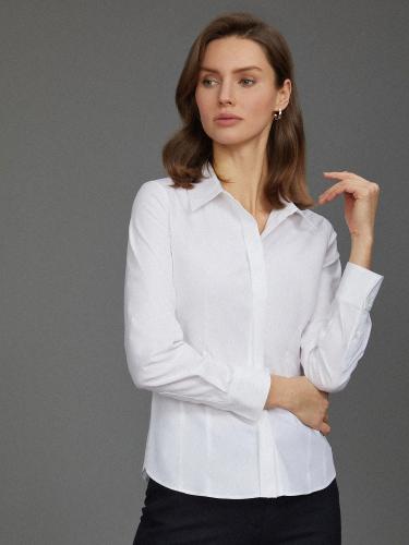 Фактурная рубашка из хлопка