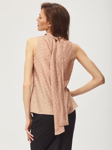 Блуза с лентами