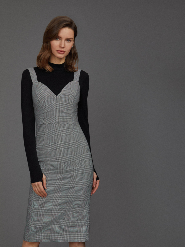 Комплект из платья и боди