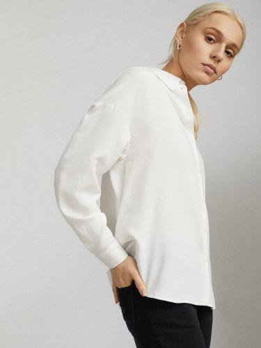 Рубашка со спущенной линий плеч