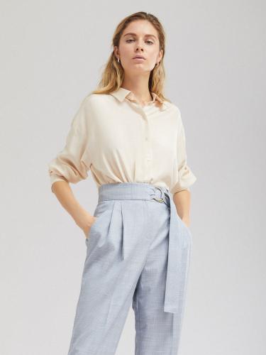Струящаяся блуза