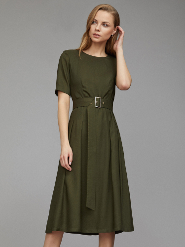 Платье со складками