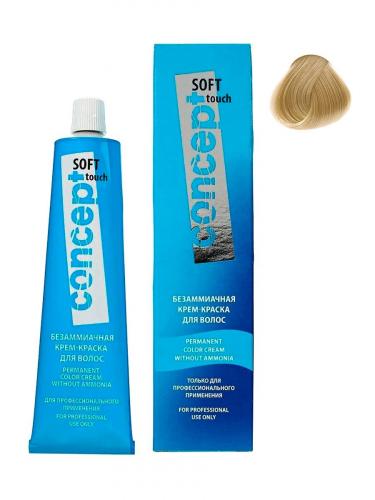 Крем-краска для волос без аммиака SOFT TOUCH (Софт Тач) 9.38 Светлый холодный золотистый блондин 60 мл