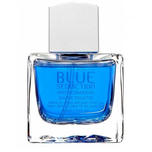 Antonio Banderas Blue Seduction  муж. т.в. 100 мл тестер без крышки