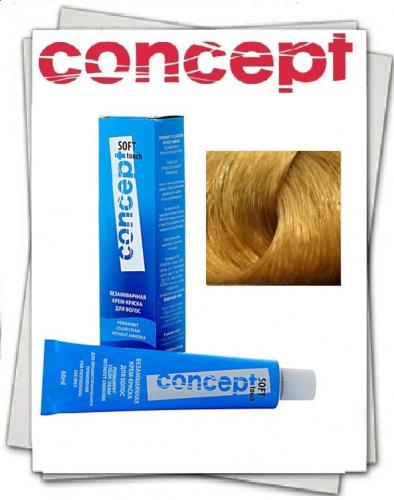 Крем-краска для волос без аммиака SOFT TOUCH (Софт Тач) 10.37  Очень светлый песочный блондин 60 мл