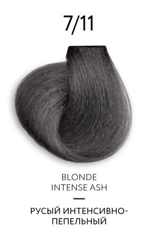 OLLIN COLOR Platinum Collection 7,11 100 мл Перманентная крем-краска для волос