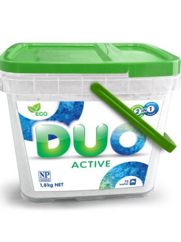 Duo Active стиральный порошок для стирки белого и цветного белья 1,8 кг.