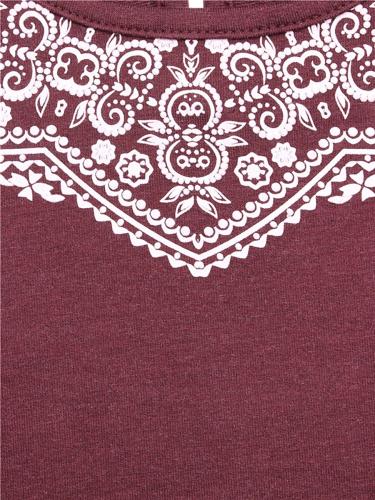 Платье #219206Бордовый136