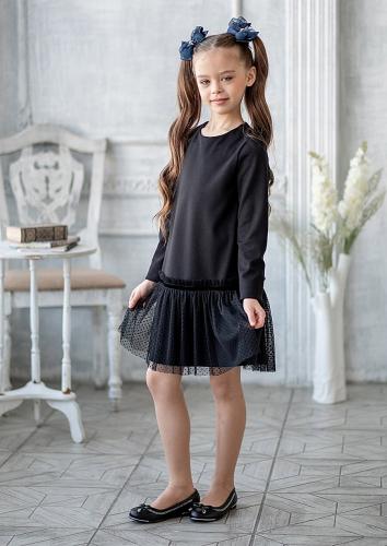 Платье #199222Лорена черный