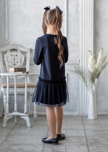 Платье #199221Лорена т.синий