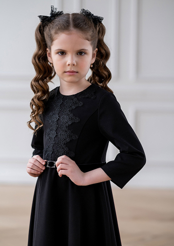 Платье #214555Мелани черный