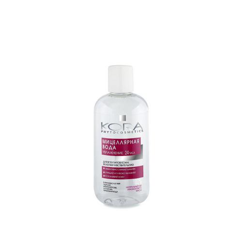 КОРА Мицеллярная вода д/всех типов кожи, включая чувствительную 300млNEW!!