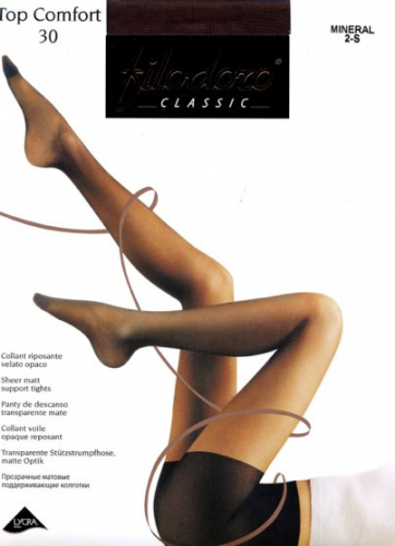 Колготки классические, Filodoro classic, Top Comfort 30 оптом