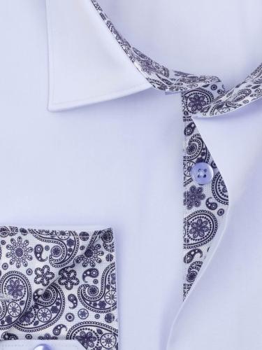 0173TECL Мужская классическая рубашка с длинным рукавом Elegance Classic