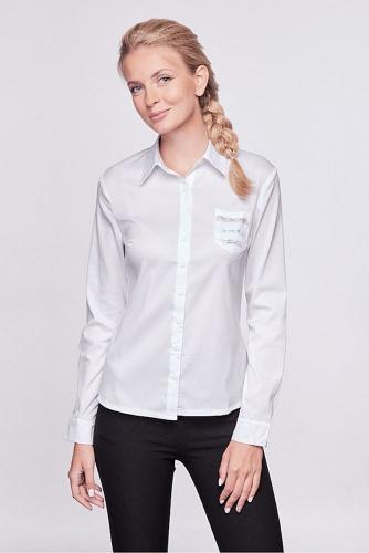 Блуза #209232Белый