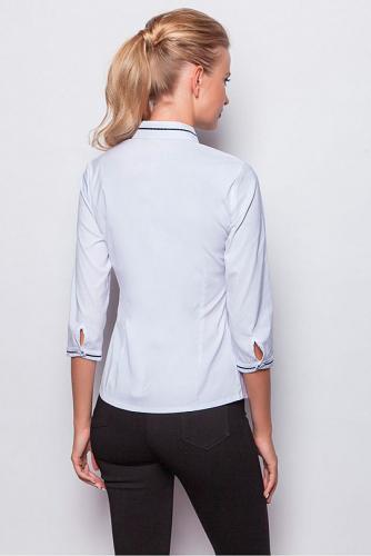 Блуза #209717Белый