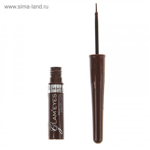 Rimmel Подводка жидк Glam`eyes Professional Liquid Liner 002